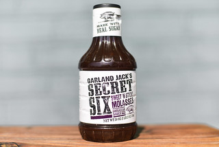 Garland Jack's Secret Six Sweet 'n Sticky Molasses Barbecue Sauce