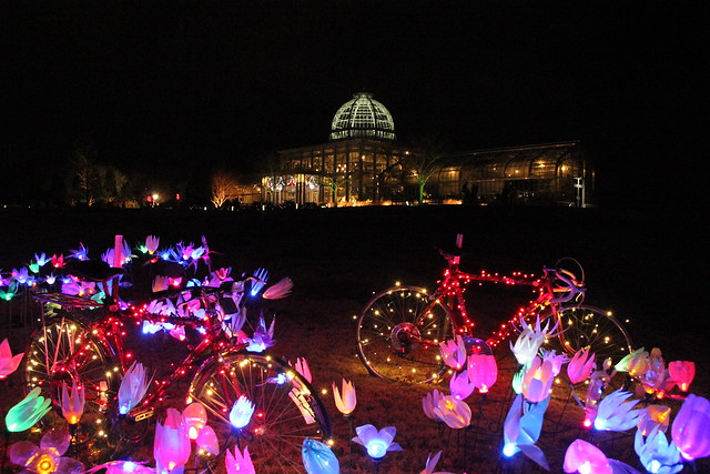 2014 gardenfest of lights at lewis ginter botanical gardens flickr photo sharing for Lewis ginter botanical gardens christmas