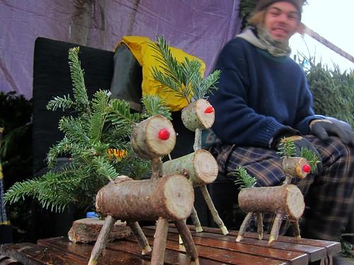 Christmas trees, East Village