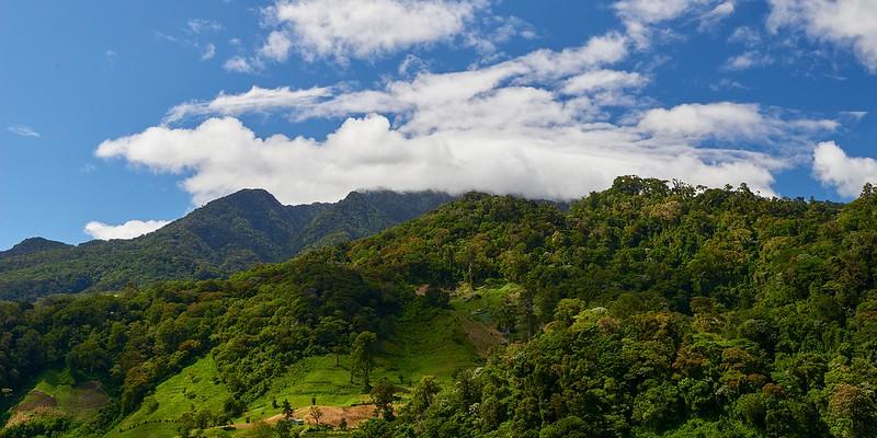 Volcano Baru in the Clouds - Boquete