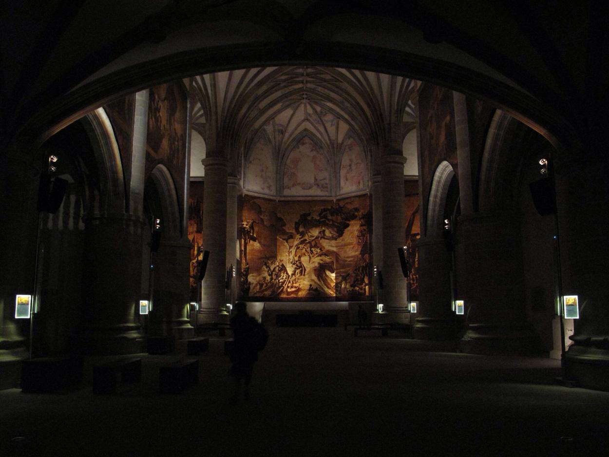 museo san telmo_iglesia_restauracion_pinturas sert