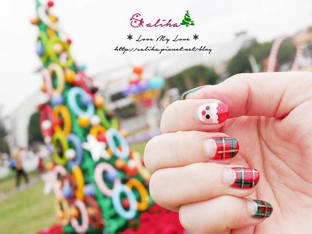 中山站聖誕節美甲光療指甲 (13)