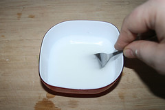 48 - Kartoffelmehl anrühren / Blend potato flour