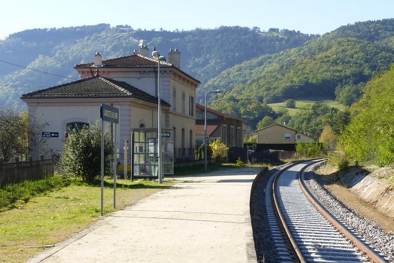 En gare de Lavoûte sur Loire