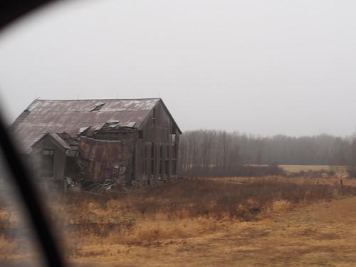 barn fog, hwy 7