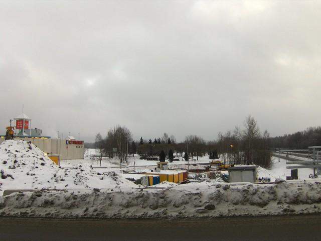 Hämeenlinnan moottoritiekate ja Goodman-kauppakeskus: Työmaatilanne 13.1.2013 - kuva 11