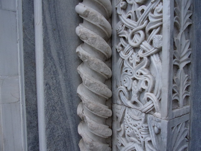 Detail, Romanesque Filigree, South Portal, Church of the Virgin, Studenica Monastery, 12th Century