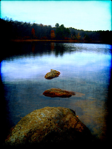 park lake art nature water garden print photography rocks stream image earth stones wildlife eden steppingstones preserve refuge groovyal refugewinslow