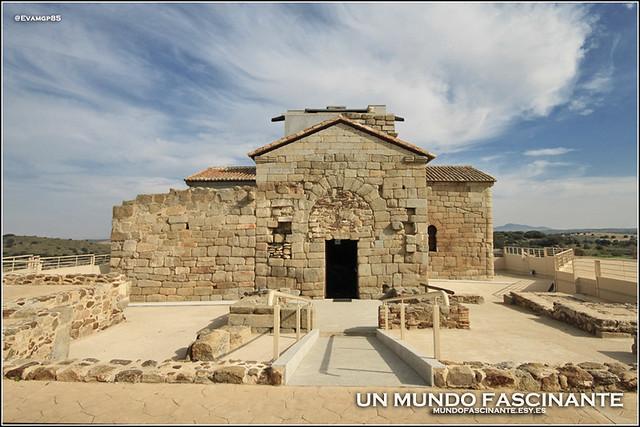 Fachada principal Santa María de Melque