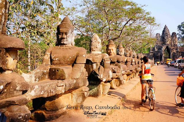 Siem Reap, Cambodia Day 2 - Angkor Thom South Gate 01