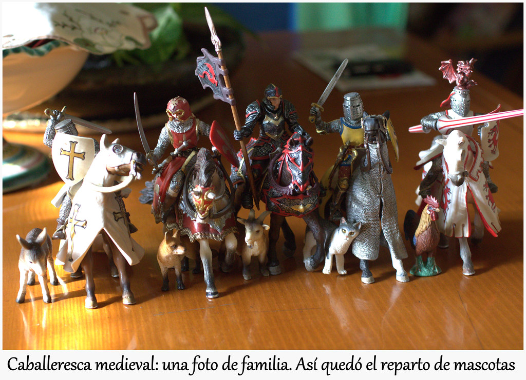 Cuitas de los caballeros medievales de andar por casa