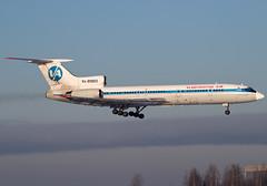 """RA-85803 Vladivostok Air Tupolev Tu-154M """"Spassk-Dalny"""""""