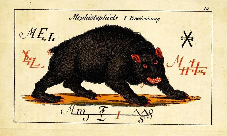 Johann Scheible - Doktor Johannes Faust's Magia naturalis et innaturalis, 1849 (13)