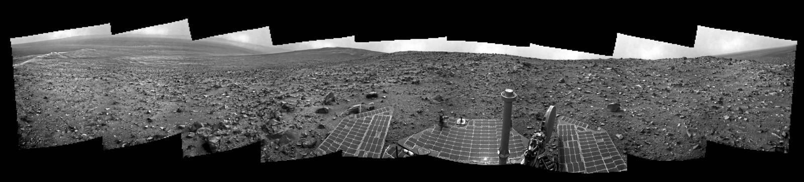 Opportunity NavCam Sol 3823