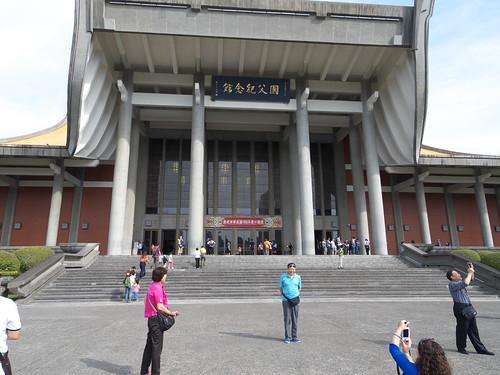 photographfreelance posted a photo:TAIWAN. Taipei. 30 Oct. 2014 Sun Yat-sen Memorial Hall.