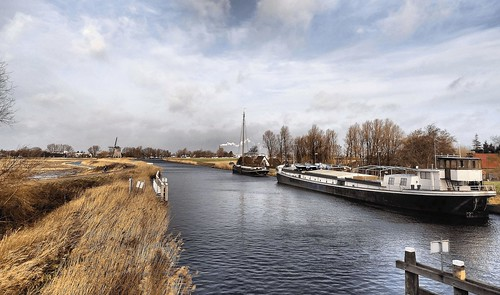 holland netherlands nederland kanaal noordholland kanaalomvalkolhorn kanaalalkmaarkolhorn