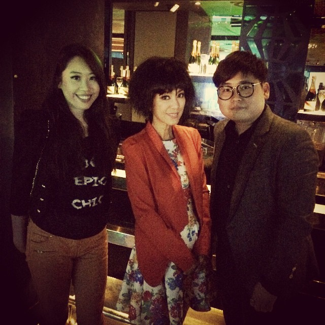 Photo with Kelvin Mun 小胖 and legendary Michelle Yim #米雪 at mm2 party. Happy birthday mm2, many more great years to come! #mm2 #birthdaybash #shanghaidolly #michelleyim @kelvinmunsp