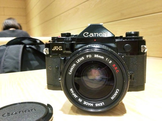 Canon FD 35mm f2 ssc 入手初試