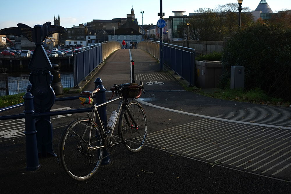 Cyclist/ Pedestrian Bridge, Coleraine