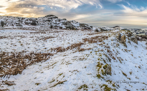 winter panorama snow weather wales clouds sunrise landscape outdoors hills northwales