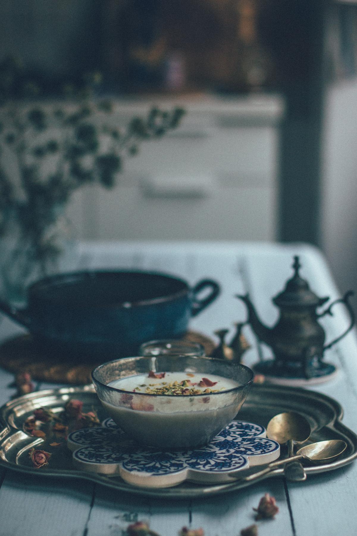 Persian Kheer Recipe (Firni) | Budino Dolce di Riso (Kheer) alla Persiana | Lab Noon