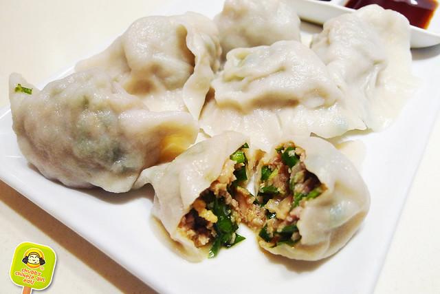 dumpling galaxy - pork, shrimp and chives dumpling