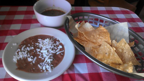 Chips & Beans & Salsa