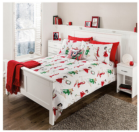 pin-up bedding