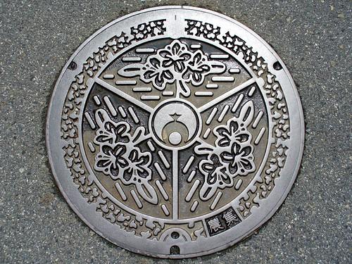 Koya Wakayama, manhole cover (和歌山県高野町のマンホール)