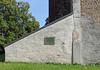 Kossenblatt, Grabstätte von Johann Albrecht von Barfus an der Dorfkirche