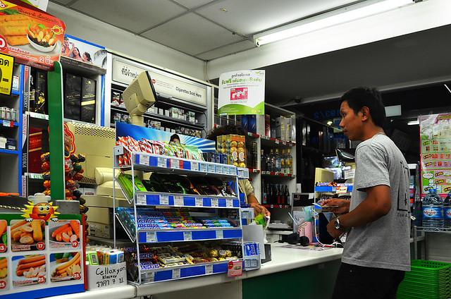 Supermercado de Tailandia en Bangkok