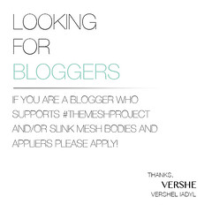VERSHE Blogger Search