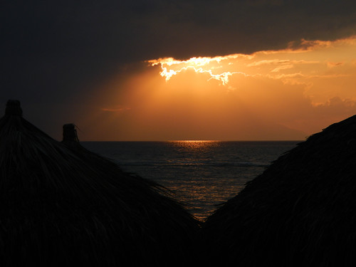 Sunset from the Sea Monkey in Puerto Vallarta, Mexico