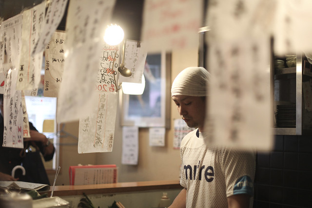Portrait at the Izikaya