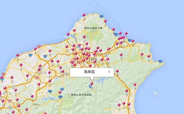 台灣選舉地圖