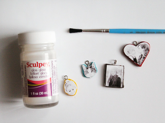 Make Your Own Clay Photo Necklace