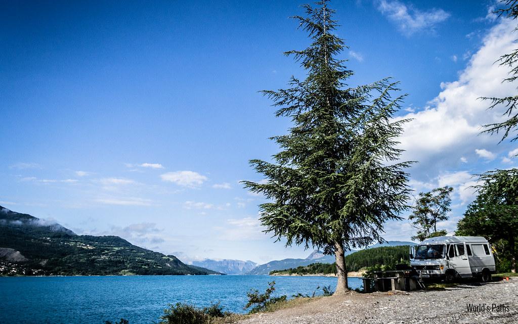 Savines-le-Lac, Lac de Serre Poncon