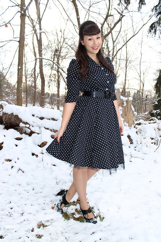 retro blogger dress