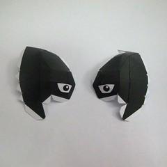 วิธีทำของเล่นโมเดลกระดาษ วูฟเวอรีน (Chibi Wolverine Papercraft Model) 005