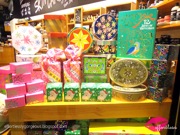 Lush Philippines Christmas 2014 Gifts