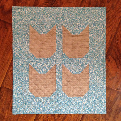 Kitty Mini Quilt Swap