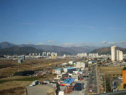 From the KTX in Ulsan