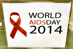 World AIDS Day 2014 - Sign