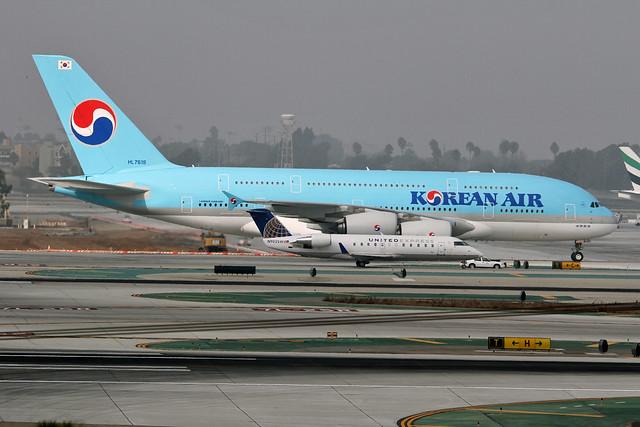 korean A380 HL7619