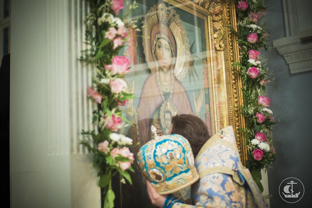 """9 декабря 2014, Всенощное бдение накануне дня празднования в честь иконы Божией Матери """"Знамение"""" / 9 December 2014, Vigil on the eve of the celebration in honor of the icon of the Mother of God """"Of the Sign"""""""