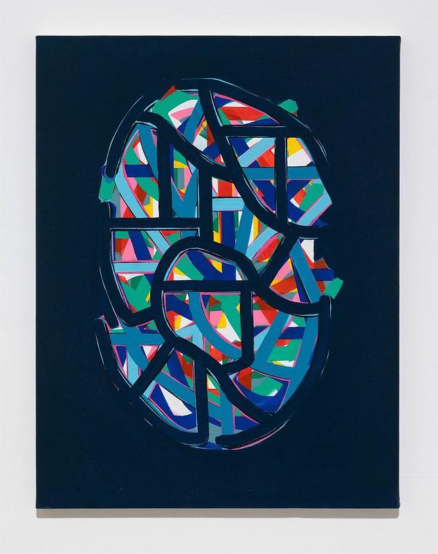 Soo-Kyoung Lee Blue nuit Acrylic 65x50cm 2014