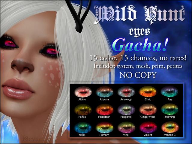 Devae. Eyes/Wild Hunt GACHA