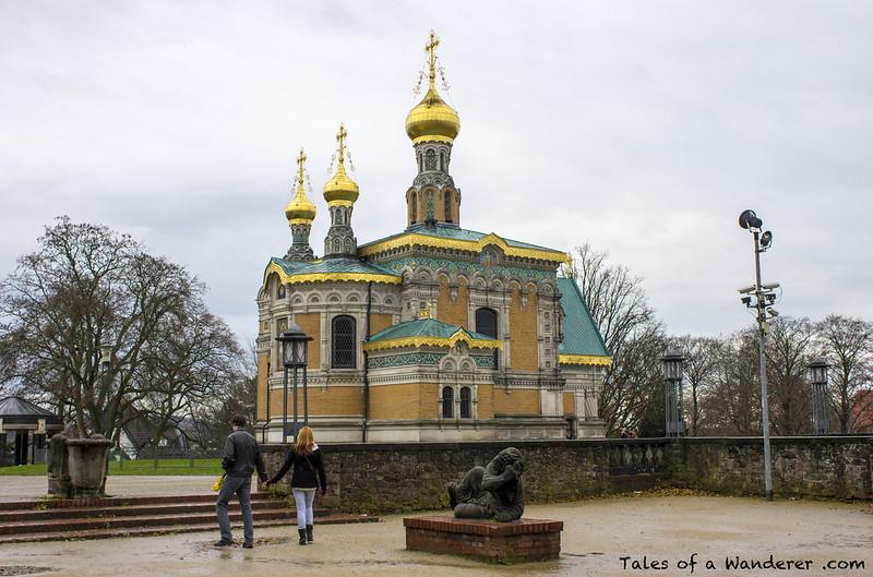 DARMSTADT - Russische Kapelle