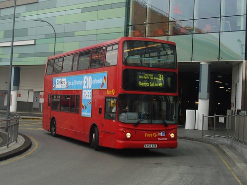 First London TNA33382 on Route 31, White City, 2012