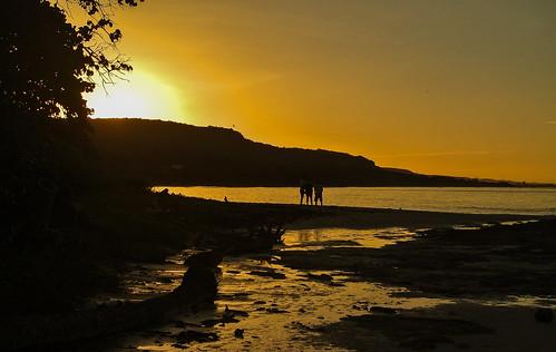 sunset sea water meer wasser sonnenuntergang kati kuba 2014 caribbeansea karibik artemisa nikon1v1